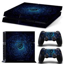 SONY PS4 PlayStation 4 SKIN Design Adesivo Pellicola Protettiva Set - CORE Motif