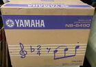 NEW Yamaha NS-6490 3-Way Bookshelf Speakers Finish Pair Black surround sound