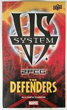 Vs System 2PCG Marvel The Defenders expansion