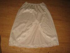 Sears Half Slip Size S White Nylon