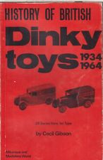 DINKY DIE-CAST MODEL VEHICLES (1934-64) COMPANY & PRODUCT HISTORY BOOK