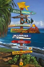 "Muai Hawaii Aloha Lahaina HI Travel Photo Fridge Magnet 2""x3"" Collectibles"