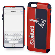 Official NFL Dual ShockProof Cover Case for Apple iPhone - New England Patriots