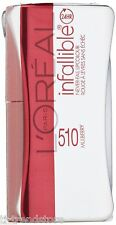 L'Oreal Infaillible Indefectible Never Lippenstift Lip Duo 24H 510 MULBERRY Neu