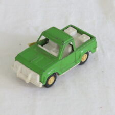 "Vintage Metal Off Road Pick Up Truck Tootsietoy Tootsie Toy Green 4"" Long"
