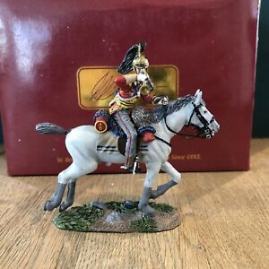 Britains: Boxed Set 36057 - 1st Dragoons Bugler Charging. 54mm Metal Model