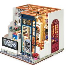 Robotime DIY Miniature House Nancy's Bake Shop 3d Wooden Model Kit-DG143