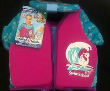 Swim School Deluslxe Swim Trainer. Pink. UPF 50. Ages 4-6. Level 2. MUST L@@K.