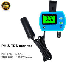 2 IN 1 Digital Water Quality Testing Tester PH TDS LCD Monitor