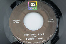 Tommy Roe: Tip Toe Tina / Jack and Jill  [VG++ Copy]
