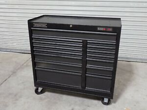 "Proto Roller Cabinet Tool Box 15 Drawer 42"" x 41"" x 18"" J544142-15DB Damaged"