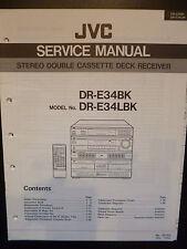 Original Service Manual JVC dr-e34bk dr-e34lbk