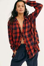Free People Lela Plaid Tunic-$128 MSRP