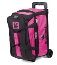 Brunswick Blitz Pink/black 2 Ball Roller Bowling Bag