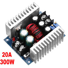 Dc Dc Converter 20a300w Step Down Buck Boost Power Adjustable Charger Board Tool