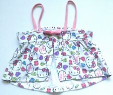 HELLO KITTY GIRLS SWIMMING SUN TOP 5-6 YEARS WHITE & PINK BNWOT FREE P&P UK