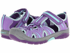 Sandals Merrell Closed Toe Water/Hiking Sandals Purple/Blue Youth Girls Size 7 M