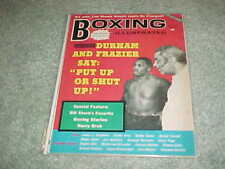 1973 Boxing Illustrated Magazine Joe Frazier Cover January
