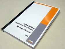 Case 580B/580CK B Hydrostatic Tractor Operators Manual Owners Maintenance Book