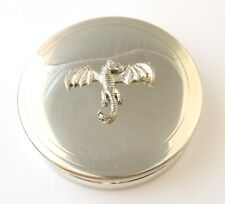 Dragon Pewter Trinket Jewellery Pill Box Ladies Mythical Gift