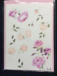 Cathy's Cards - Original hand painted greeting card