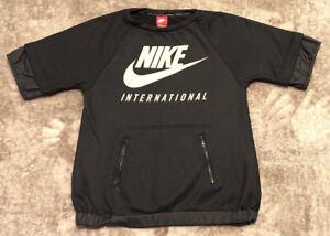 Nike International Sweat Shirt Sz Men's Medium Red Tag Athletic Wear
