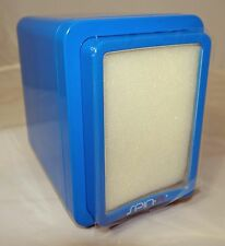 Spin R S937 Single Box Gloss Blue Automatic Watch Winder w/ LCD Control Panel