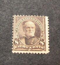 US Stamp Scott#  225 Sherman 1893 MH  C440