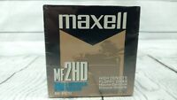 "MAXELL MF2HD High Density Floppy Disk 3.5""/10 PCS. IBM Compatible New Sealed"