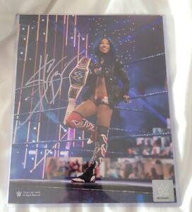 WWE Sasha Banks Summerslam Authentic 8 x 10 Autographed Limited Edition