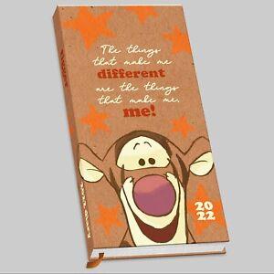 Tigger 2022 Slim Pocket Diary
