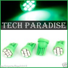 1x Ampoule T10 / W5W / W3W LED 8 SMD 1206 Vert Green veilleuse lampe light 12V
