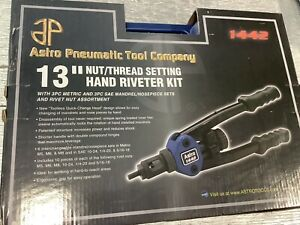 Astro Pneumatic Tools 1442 Hand Riveter Kit
