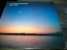 CLUSTER & BRIAN ENO Old Land lp original '85 restless NM electronic oop rare WOW