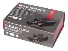 DIGITAL / ANALOG - AUDIO CONVERTER  MINI-DAC  DIGITAL/ANALOG-WANDLER
