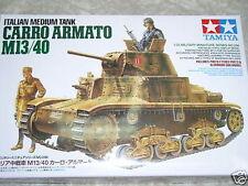 Tamiya 1/35 italien Carro Armato M13/40 Model Tank Kit #35296
