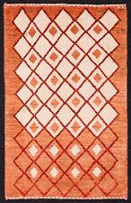 TAPPETO PERSIANO GABBEH KASHKULI NODO FINE ANNODATO A MANO cm. 95 x 61