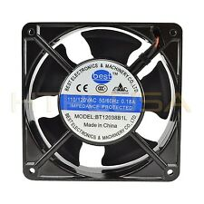 Best Electronics BT12038B1L 120mm x 38mm 115V Ball Bearing AC Cooling Fan NEW