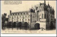 Chenonceaux France  CPA 1913 Le chateau Facade orientale Schloß Fluss