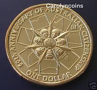 2009 $1 Coin 60th Anniversary of Australian Citizenship S Sydney Privymark UNC