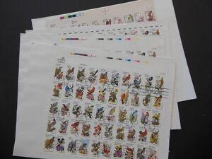 USA : 3 Birds Full Sheets FDC & 1 Wild Life full Sheet FDC