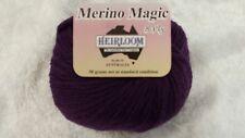 Heirloom Merino Magic 8 Ply #515 Royal  Purple 100% Wool