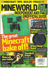 MINEWORLD,INDEPENDENT AND UNOFFICIAL GUIDE ISSUE,13 THE GREAT MINECRAFT BAKE OFF
