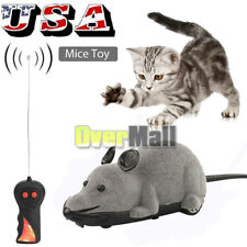 RC Funny Wireless Electronic Remote Control Mouse Mice Rat Pet Toy For Cats Toys