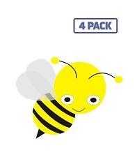 Bee Bug Yellow Insect Honey Bee Sticker Vinyl Decal 1-256