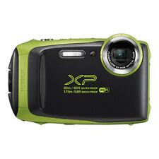 Fujifilm FinePix XP130 16.4MP Digital Camera Lime Full-HD Wi-Fi Bluetooth