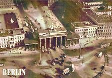 Postkarte BERLIN, Brandenburger Tor, Historische Luftaufnahme