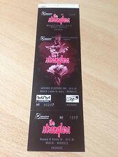 THE STRANGLERS, ticket de concert COMPLET 1995/Marseille