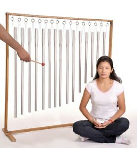 15 Human Organ Tuned Pipes with large stand +528 Tuning fork free worth £24