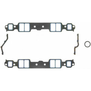 Fel Pro Intake Manifold Gasket Set 1205; Composite w/ Printoseal for 262-400 SBC